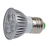 3 E26/E27 Focos LED MR16 3 SMD 250LM lm Blanco Cálido Decorativa AC 100-240 V 1 pieza