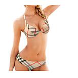 Fashion Gathered Bikini Swimwear Swimsuit Steel Torg
