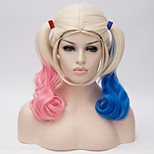 Film Movie Halloween Wig Gradient COS wig Synthetic Wigs