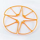 SYMA X8W SYMA x8w Propeller Guards RC quadcopter / Drones / Elicotteri RC Nero / Bianco / Arancione Plastica 1 pezzo