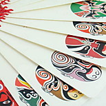 12 Classical Chinese Knot Peking Opera Bookmarks For Students