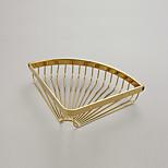 Bathroom Shelf / Gold / Wall Mounted /29.5*8*5cm /Brass /Contemporary /29.5cm 8cm 0.54