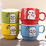 Ceramic Cup Cup Sets Hob Upscale Coffee Cup Zakka Grocery Colored Glass Cup