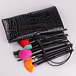 15Pcs Wool Makeup Brush Set Portable Beauty Makeup A Full Set Of Brushes