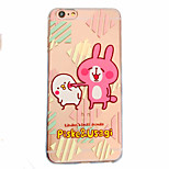 Pour Coque iPhone 6 / Coques iPhone 6 Plus Motif Coque Coque Arrière Coque Animal Flexible TPU Apple iPhone 6s Plus/6 Plus / iPhone 6s/6