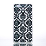 TPU Material Black Palace Flower Pattern Cellphone Case for Huawei P9Lite/P9/P8Lite