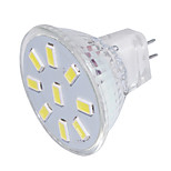 2 GU4(MR11) Focos LED MR11 9 SMD 5733 150 lm Blanco Cálido / Blanco Fresco Decorativa 09.30 V 1 pieza