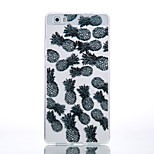 TPU Material Black Pineapple Pattern Cellphone Case for Huawei P9Lite/P9/P8Lite