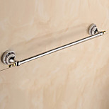 Towel Bar / Chrome / Wall Mounted /62*7*6.5cm /Stainless Steel / Zinc Alloy /Contemporary /62cm 7cm 0.47