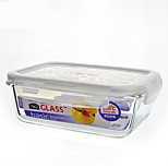 LOCK&LOCK 1/set Kitchen Kitchen Glass Lunch Box 180*68*130mm LLG431