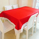 Rectangular Solid Table Cloth l Christmas Decor Favor / Table Decoration / Dinner Decor