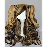 Capless  Costume  Wigs  Synthetic  18 inch Long Wavy Ombre  Hair Wig 3 Colors Cosplays