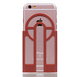 Per Custodia iPhone 7 / Custodia iPhone 6 Decorazioni in rilievo Custodia Custodia posteriore Custodia Tinta unita Resistente PC Apple