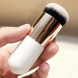 Overweight Young Foundation Brush Round Head White Pearl Makeup Brush