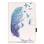Ganzkörper Kartenhalter / mit Ständer / Muster Other PU - Leder Weich Card Holder Fall-Abdeckung für Apple iPad Mini 3/2/1