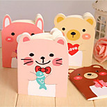 X-118 South Korean Stationery Cute Little Bear Book Cartoon Animals Notepad Carry This Taobao