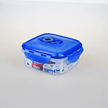 yooyee bpa marca envase de plástico a prueba de fugas de encargo libre con tapa