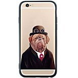 Gentle Dog Back Cover Dustproof/Pattern Dog Soft TPU and PC Case Cover for iPhone 6s Plus/6 Plus/ 6s/6/SE/5s/5