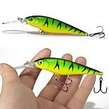10 Pcs Hard Bait Super Quality 10 Colors 11cm 10.5g Hard Bait Minnow Fishing Lures Bass Fresh Saltwater 6#hook