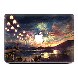 The Lights of Ten Thousand Homes PVC Sticker For MacBook Air 11 13/Pro13 15/Pro with Retina13 15/MacBook 12