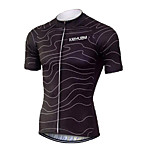 KEIYUEM Cycling Jersey/ Tops Unisex Short Sleeve/ Breathable / Quick Dry / Rain-Proof /Waterproof Zipper#K179