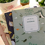 Weird Nature Notebook A5 Car Line (random style)
