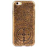 de volta Galvanização / Other Other Other Macio Luxury Plating+Soft Case Case Capa Para Apple iPhone 6s Plus/6 Plus / iPhone 6s/6