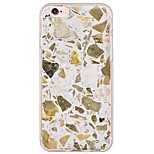 Marble Pattern TPU Ultra-thin Translucent Soft Back Cover for Apple iPhone 6s Plus/6 Plus/ 6s/6/ SE/5s/5