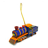 The Locomotive Wind-up Toy Leisure Hobby Metal Blue For Kids