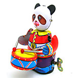Novelty Toy  Puzzle Toy  Music Toy  Wind-up Toy Novelty Toy Drum kit Robot Metal Red For Kids