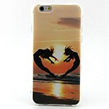 EFORCASE® Painted Sunset TPU Phone Case for iphoneSE 5S 5 6S 6 6Splus 6plus