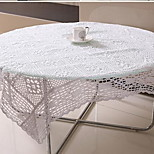 The New Rural Ecological Hollow Cotton Handmade Crochet Table Cloth(60*60cm)