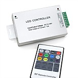 1PCS 20Key Wireless RF Remote Controller for SMD3528 SMD5050 RGB LED Strip lights(DC 12-24V 12A)