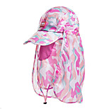 Ms. Outdoor UV Sunscreen Face Covering Cap Breathable Peaked Cap