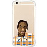 Für iPhone 6 Hülle / iPhone 6 Plus Hülle Stoßresistent / Staubdicht / Muster Hülle Rückseitenabdeckung Hülle Zeichentrick Weich TPU Apple