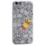 Duck Pattern Simple Matte Material TPU Phone Case For iPhone 6s 6 Plus SE 5s 5