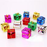 12PCS Christmas Decoration Gifts Role Ofing Christmas Tree Ornaments Christmas Gift Color Random