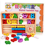 Early Childhood Mathematics Elementary Arithmetic Learning Digital Wooden Box