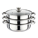 1PC Slap-Up Multi-Purpose Domestic Kitchen Restaurant Culinary Cooking Utensils Stainless Steel Steamer