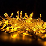 Foreign Copper Led String Lights Battery Boxes Decorated Christmas Star Copper String Light Waterproof Outdoor Lights