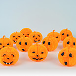 5PC Design Is Random Interesting Retro Hallowmas Christmas Convenient LED Pumpkin Lamp