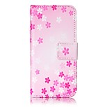 Flower Strong Relief Colored Card Holder PU Material Leather for  iPhone 7 6s  SE 5s 5