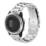 26mm Excellent Quality Beautiful Gift New Metal Stainless Steel Watch Band Strap Garmin Fenix 3