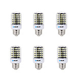 6 pcs E14 / E26/E27 / B22 LED Corn Lights 108 SMD 5733 1500 lm Warm White / Cool White AC 220-240 V