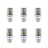 18 E14 / B22 / E26/E27 LED a pannocchia B 108 SMD 5733 1500 lm Bianco caldo / Luce fredda Decorativo AC 220-240 V 6 pezzi
