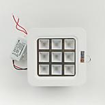 zdm 9W haute puissance conduit lampe pleine croissance de la plante de longueur d'onde conduit lampe de plafond (AC85-265V)