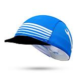 Cycling Cap Hat Bike Windproof Sunscreen Unisex Blue Terylene