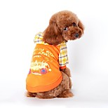 Cute Car Printing Coat with Hoodie for Pets Dogs (Assorted Sizes and Colours)
