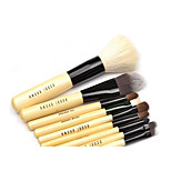 9 Makeup Brushes Set Goat Hair Professional / Full Coverage Wood Face Others