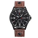 New Men Fashion Watches Men Luxury Brand Military Sports Quartz Wrist Watch Men Leather Watch Casual Male Clock